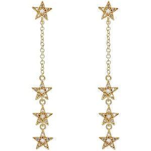 Jennifer Meyer Women S Star Long Drop Earrings