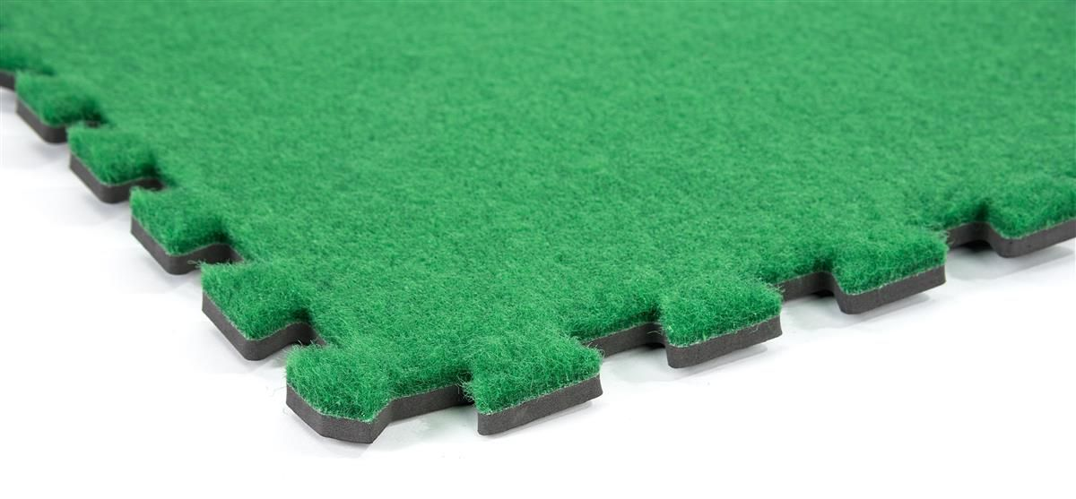 10 X 10 Interlocking Faux Grass Foam Mat Green Trade Show Flooring Carpet Tiles Foam Mat Flooring