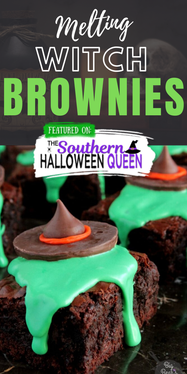 Halloween 2020 Queen Of The South Melting Witch Brownies | The Southern Halloween Queen | Recipe in