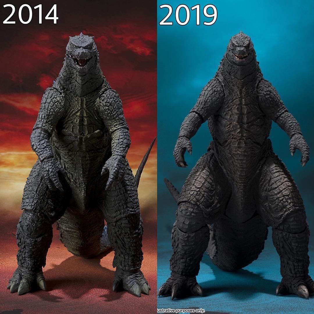 2014 or 2019?? All godzilla monsters, Godzilla toys
