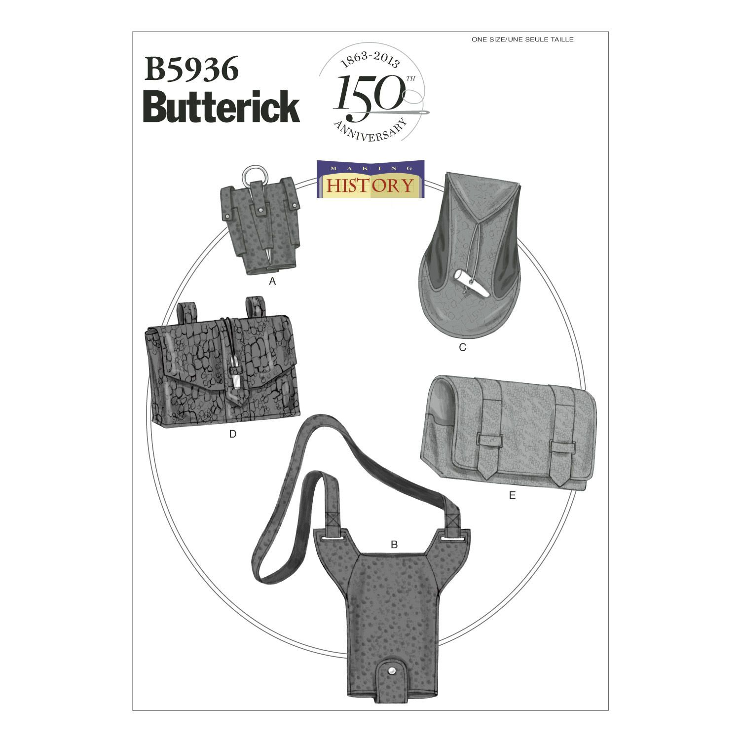 Butterick Crafts Historical Costumes - B5936