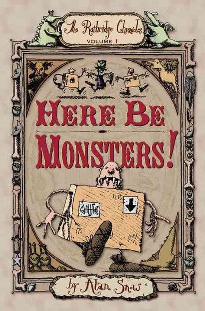 Here Be Monsters By Alan Snow 2014 Movies Based On Books Books