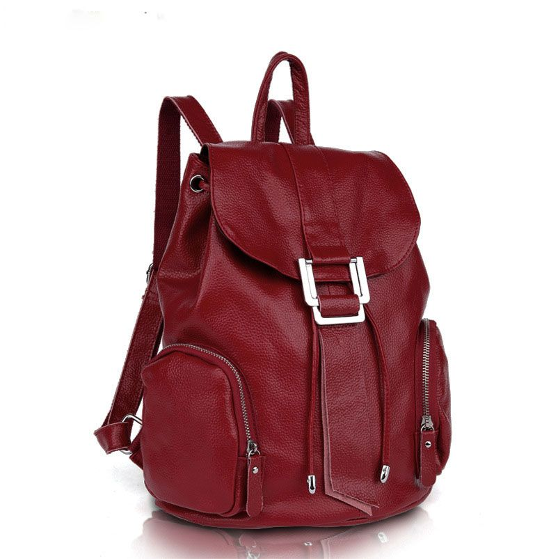43eea205 Mochilas de cuero de marca de lujo para mujeres nuevo modelo de mochila de  viaje baratas [SD91038] - €50.62 : bzbolsos.com, comprar bolsos online