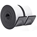 Amazon Com Customer Reviews Foam Rubber Seal Strip Tape 2 Rolls 2 Inch Wide X 1 4 Inch Thick Foam Adhesive Strips In 2020 Weather Stripping Foam Adhesive Foam Tape