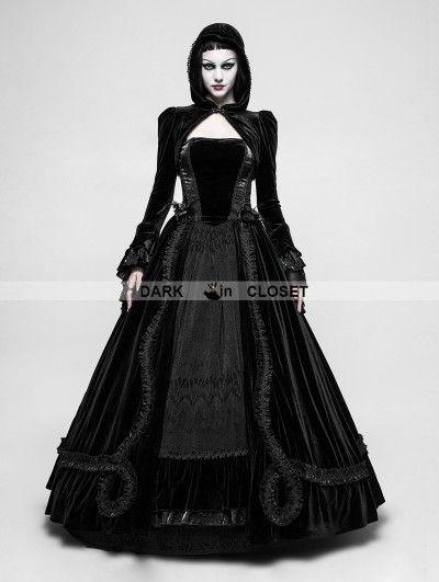 ee6ec5cb8401 Punk Rave Black Romantic Gothic Ball Gown Long Dress | Ball in 2019 ...