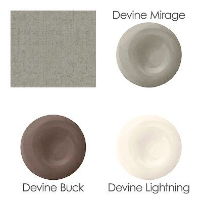 Devine Color Weave Peel & Stick Wallpaper - Mirage & Buck, Brown