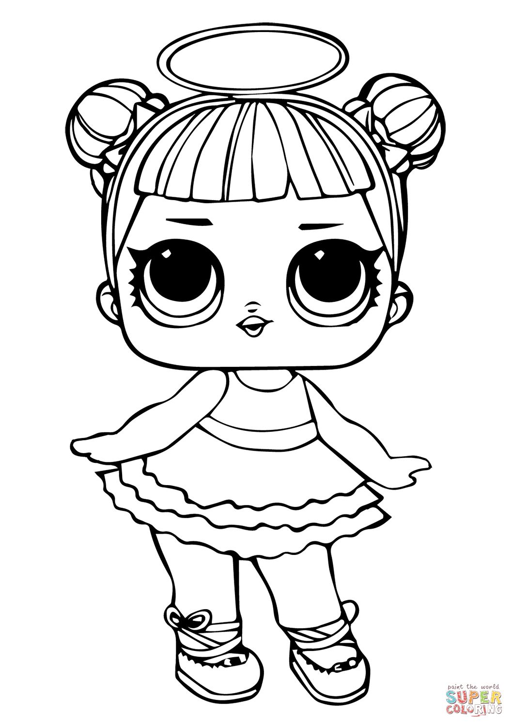 - LOL Doll Sugar Coloring Page Free Printable Coloring Pages