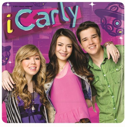 ICarly 7 Inch Dessert Plate