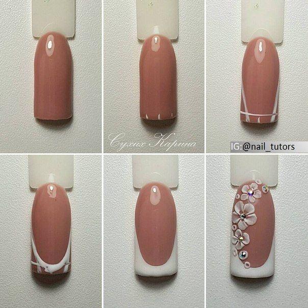 Nails University. Ногти и Маникюр пошагово. | Ногти, Гелевые ногти ...