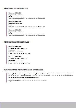 Descargar Ejemplo Curriculum Vitae Justicia Pinterest Curriculo