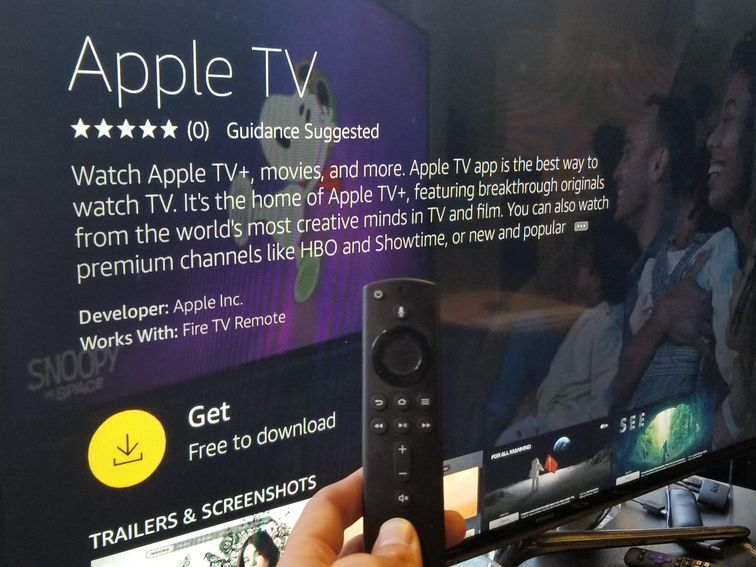 Hey, Apple TV app, to Amazon's Fire TV Apple tv