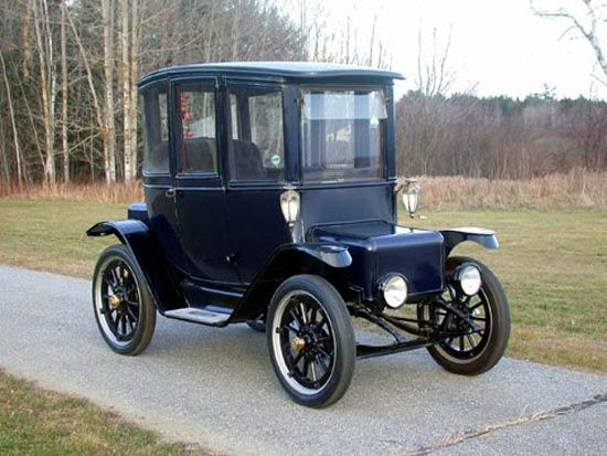1912 Detroit Electric Woods Electric Cars Antique Cars