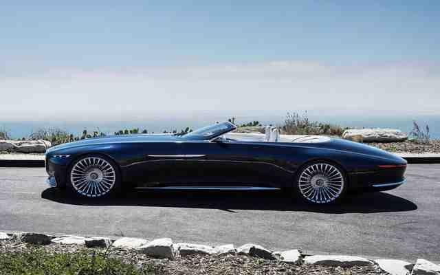 Mercedes Benz Vision Maybach 6 Cabriolet Concept 2019 Luxo Fenomenal Preço Consumo Interior E Ficha Técnica Mercedes Maybach Maybach Car Design