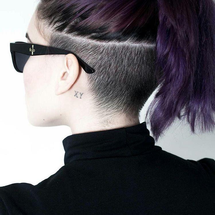 CREDITS @mainlyboredom undercut undershave haircut hairshave hairstyle  hairtrend hairart desigirl punjabigirl napebuzz napeshave\u2026\u201d