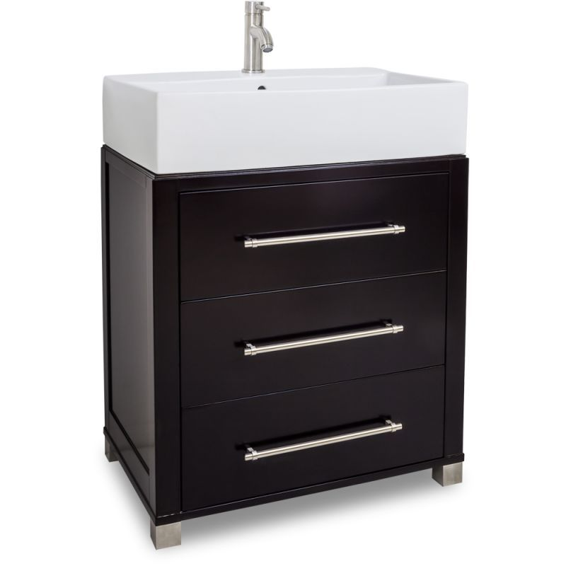 Jeffrey Alexander Van098 T Briggs Collection 28 Inch Wide Bathroom