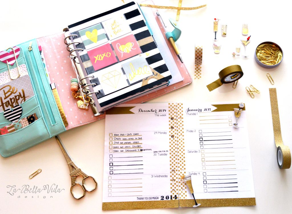 Custom planner on pinterest may designs planner for Planner design