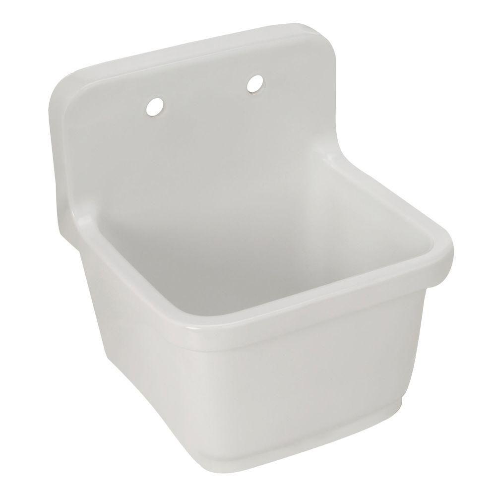 Kohler Sudbury Wall Mount 22x20x9 25 Utility Sink K 6650 0 506