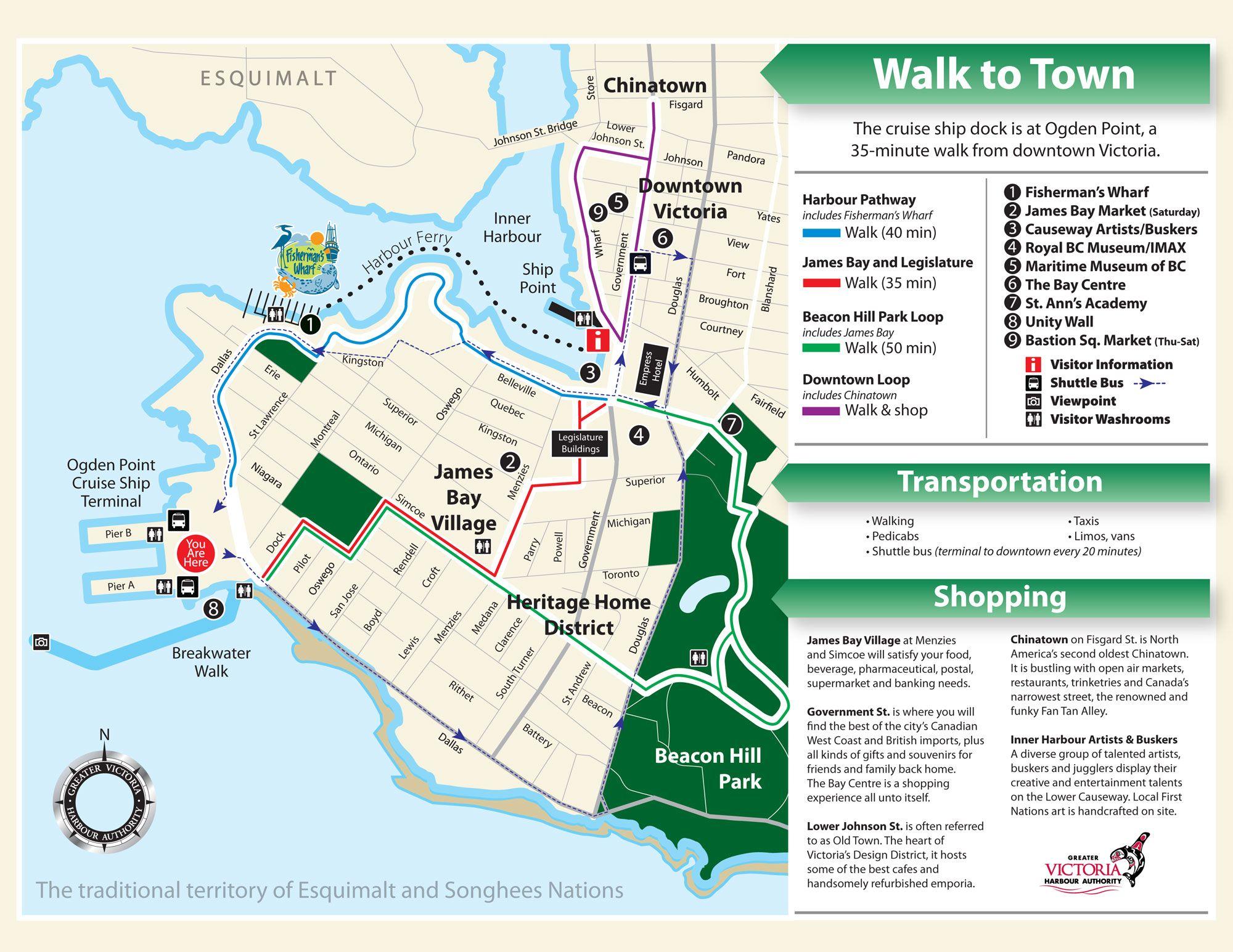 Cruise Map Web 3 Jpg 2000 215 1545 Seattle Victoria Bc