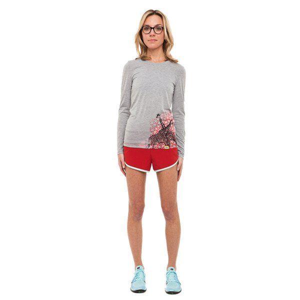Women's Giraffe Kenya Long-Sleeve Running Shirt