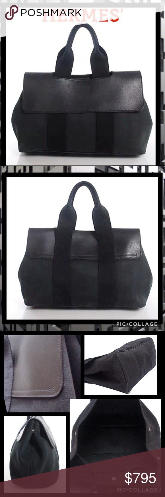 c79b7cee830 Authentic HERMES  Valparaiso PM Herringbone Bag This is an amazing  AUTHENTIC Hermes Valparaiso PM Handbag