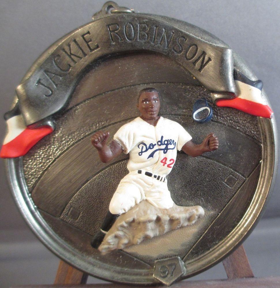 Jackie Robinson Baseball Heroes Collectors Series #4 Ornament 1997 Hallmark