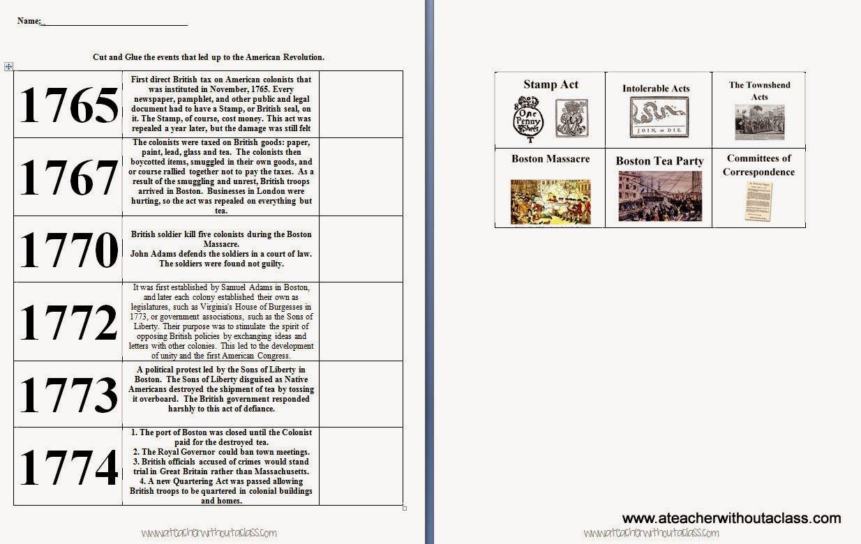 Columbian Exchange Worksheets