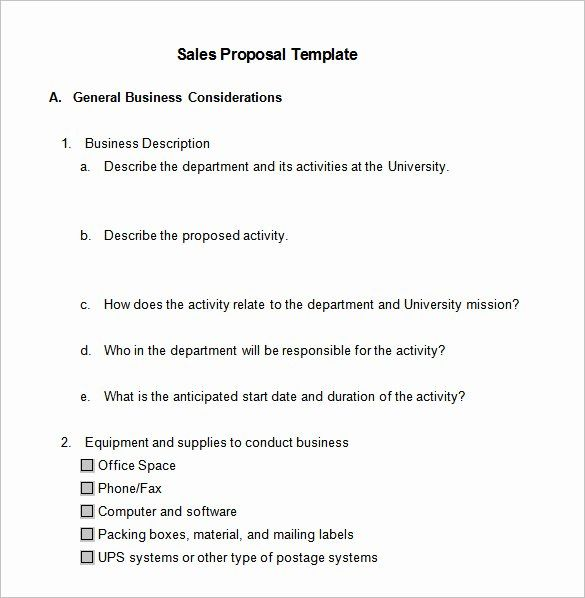 Sales Proposal Sample Pdf Best Of 21 Sales Proposal