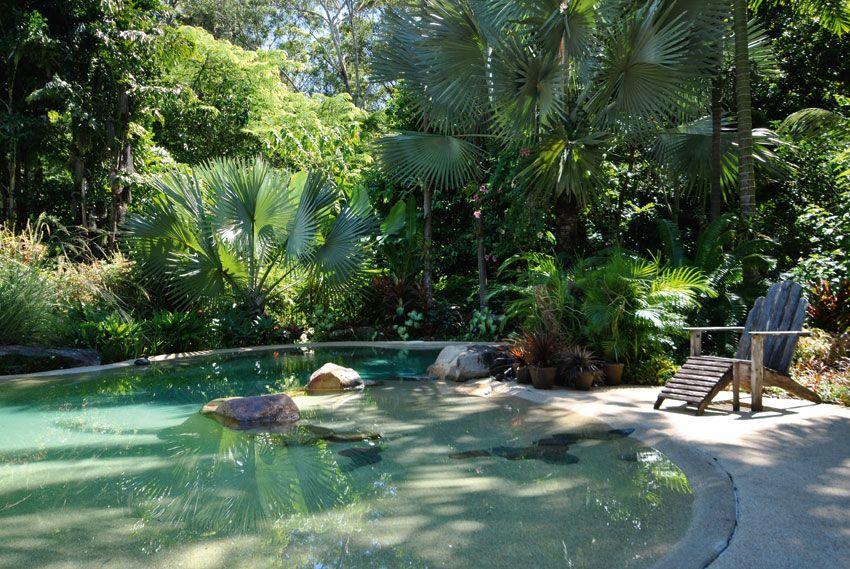 #natural #pool #peaceful