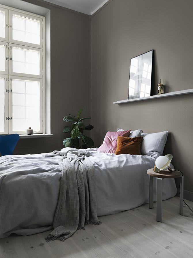 Så väljer du rätt grå nyans till dina väggar