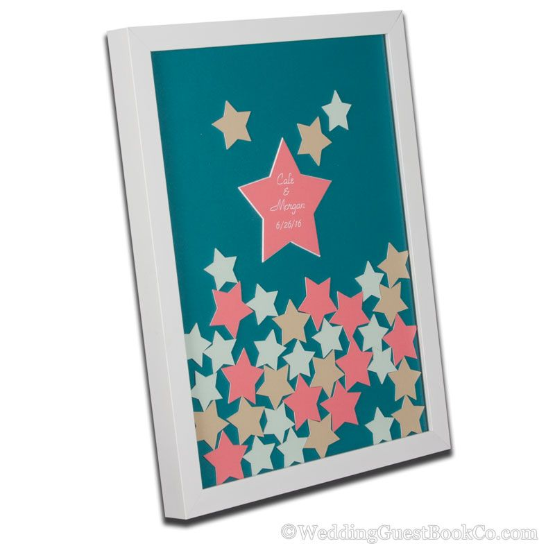 Twinkle Little Star Guest Book  Printable Pdf  Baby Shower First