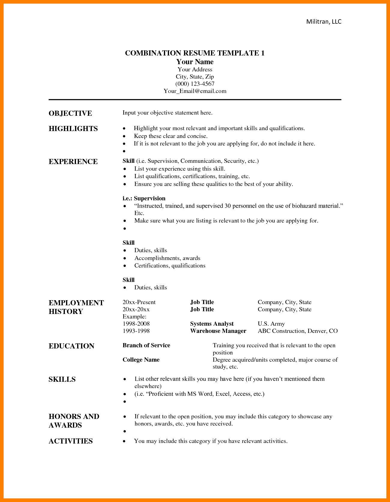 8 functional resume template microsoft word reptile