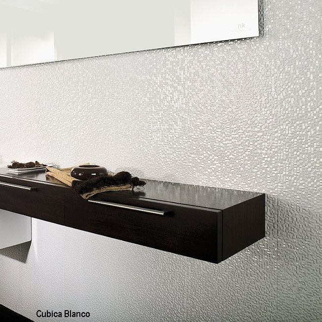 Cubica Blanco Wall Tiles | Tile Design Ideas