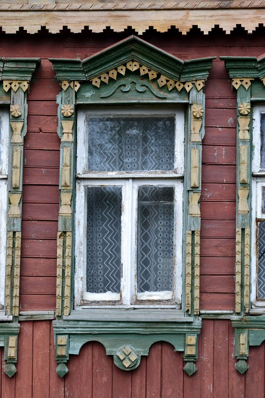 Windows for a wooden house 73