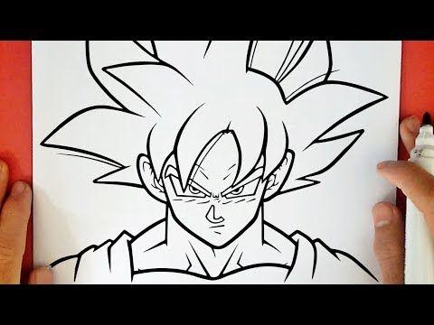 Como Dibujar A Goku Ultra Instinto Dominado Youtube Goku Decal Home Decor Decals Art