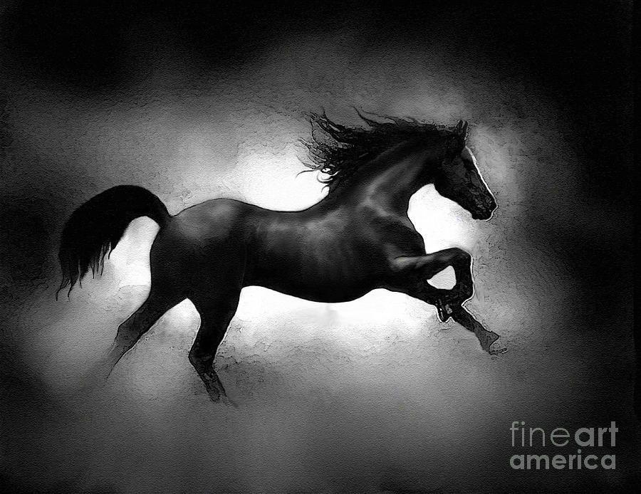 Running Horse by Robert Foster | Tara: | Horse art, Horses ...
