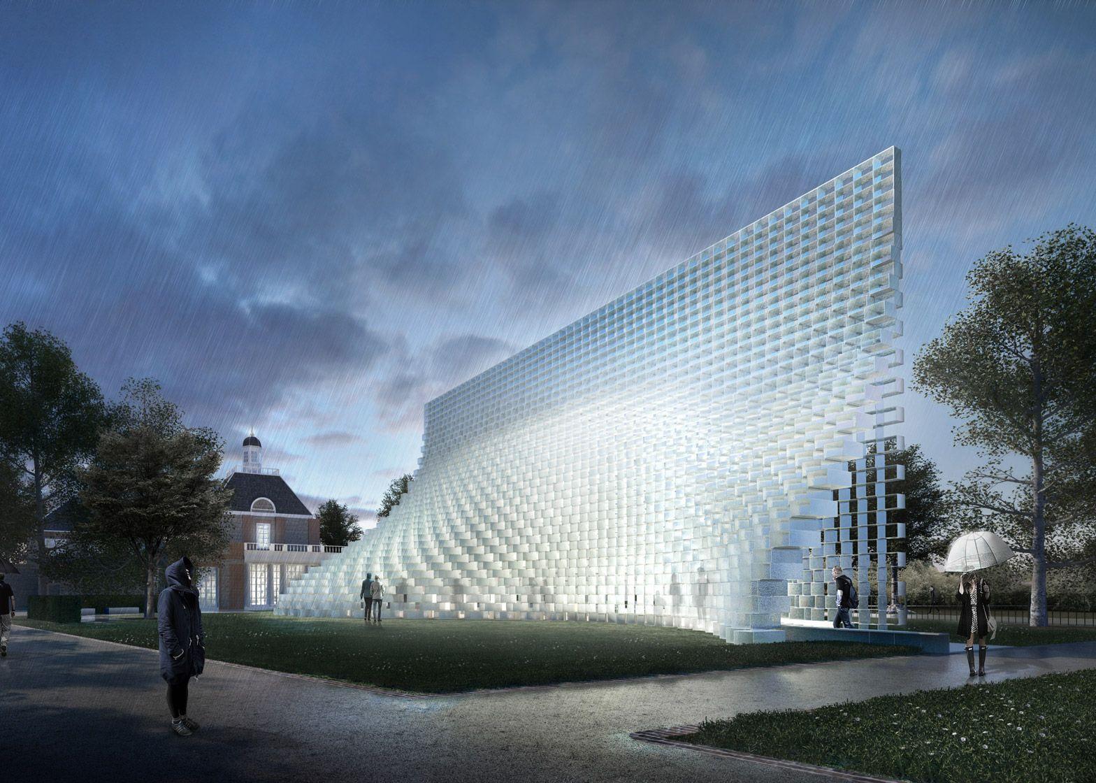 Bjarke Ingel's 2016 Serpentine Gallery Pavilion unveiled