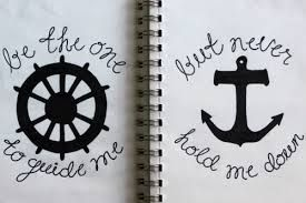 best friend tattoos for girls - not a tat for me...put great for décor in the nautical sense....Google Search