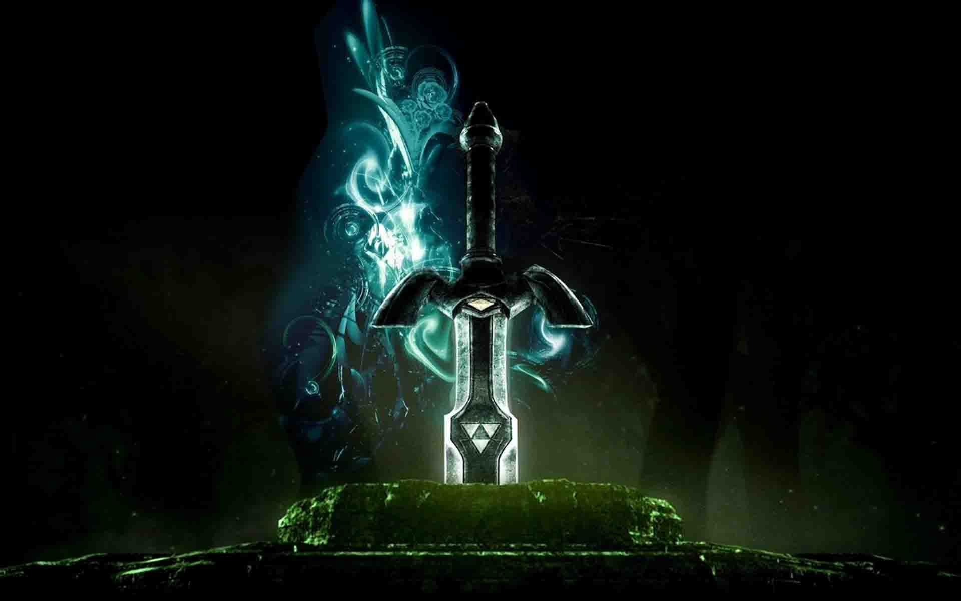 Animated Sword Hd Wallpaper With Images Zelda Master Sword