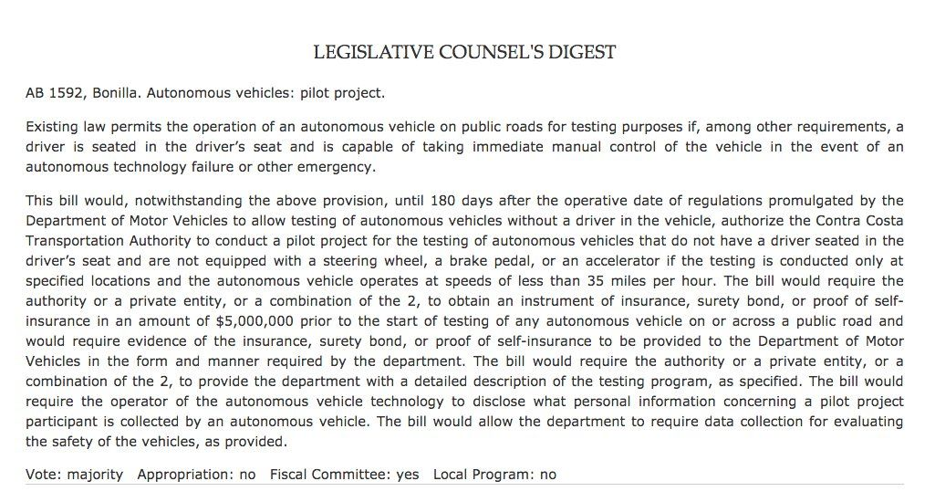California reconsiders autonomous cars without steering wheels https://t.co/BPCtf4zOYu #WIREDAwake https://t.co/d5icqsQ28p