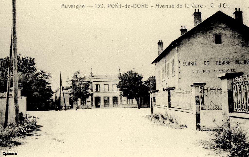 Pont De Dore Puy De Dome Commune De Peschadoires Clermont Ferrand Puy De Dome Thiers