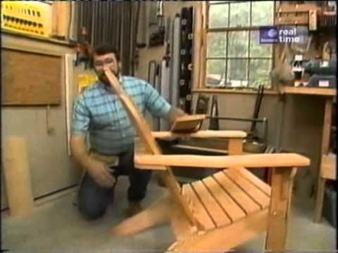 """New Yankee Workshop 202 Adirondack Chair - YouTube 