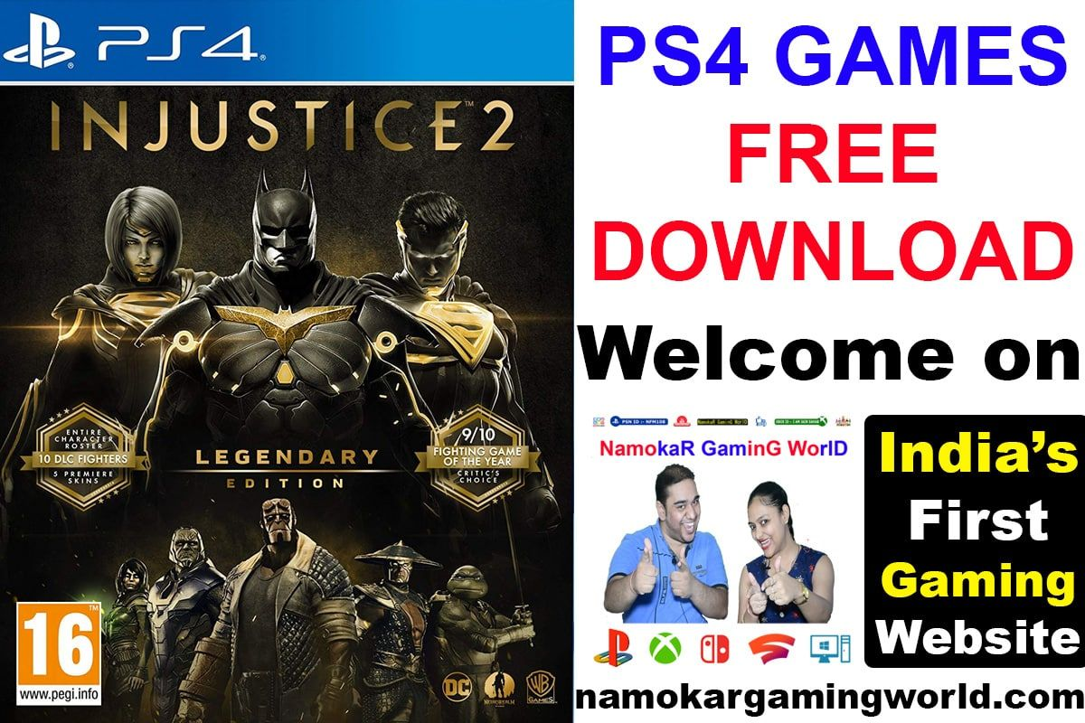 Injustice 2 Ps4 Free Download Ps4 Free Games Ps4 Free