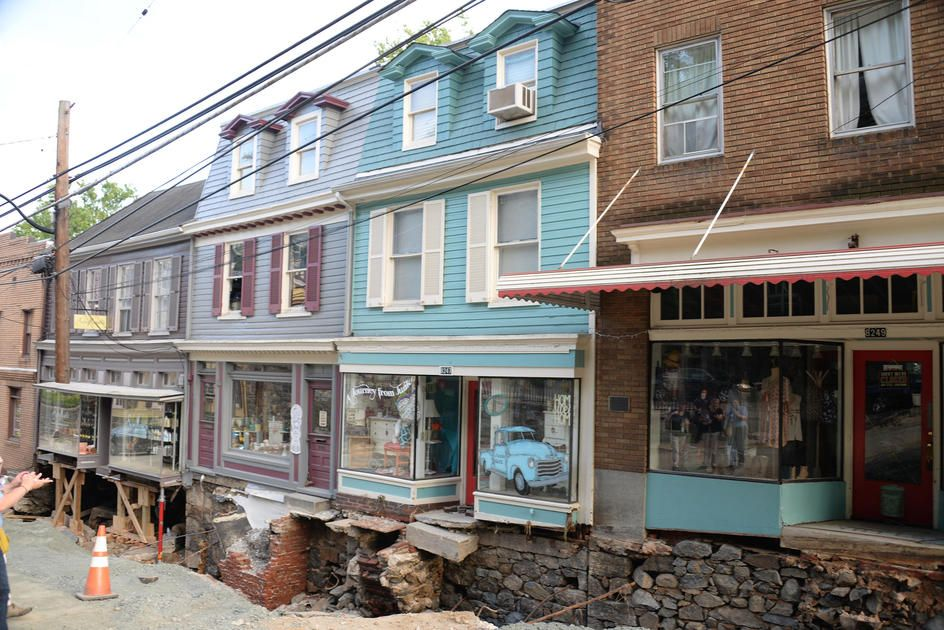 Residents in Historic Ellicott City Are Ready to Rebuild