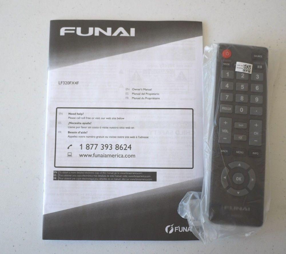 Funai LF320FX4F Remote Control and manual | Dream Home Ideas