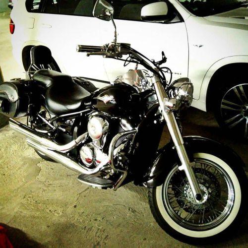 Born to be wild #Bike #Vintage #Chopper #Black #Chrome...