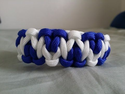 How to make: Solomon's Mountain Paracord Bracelet by GianOneil - YouTube