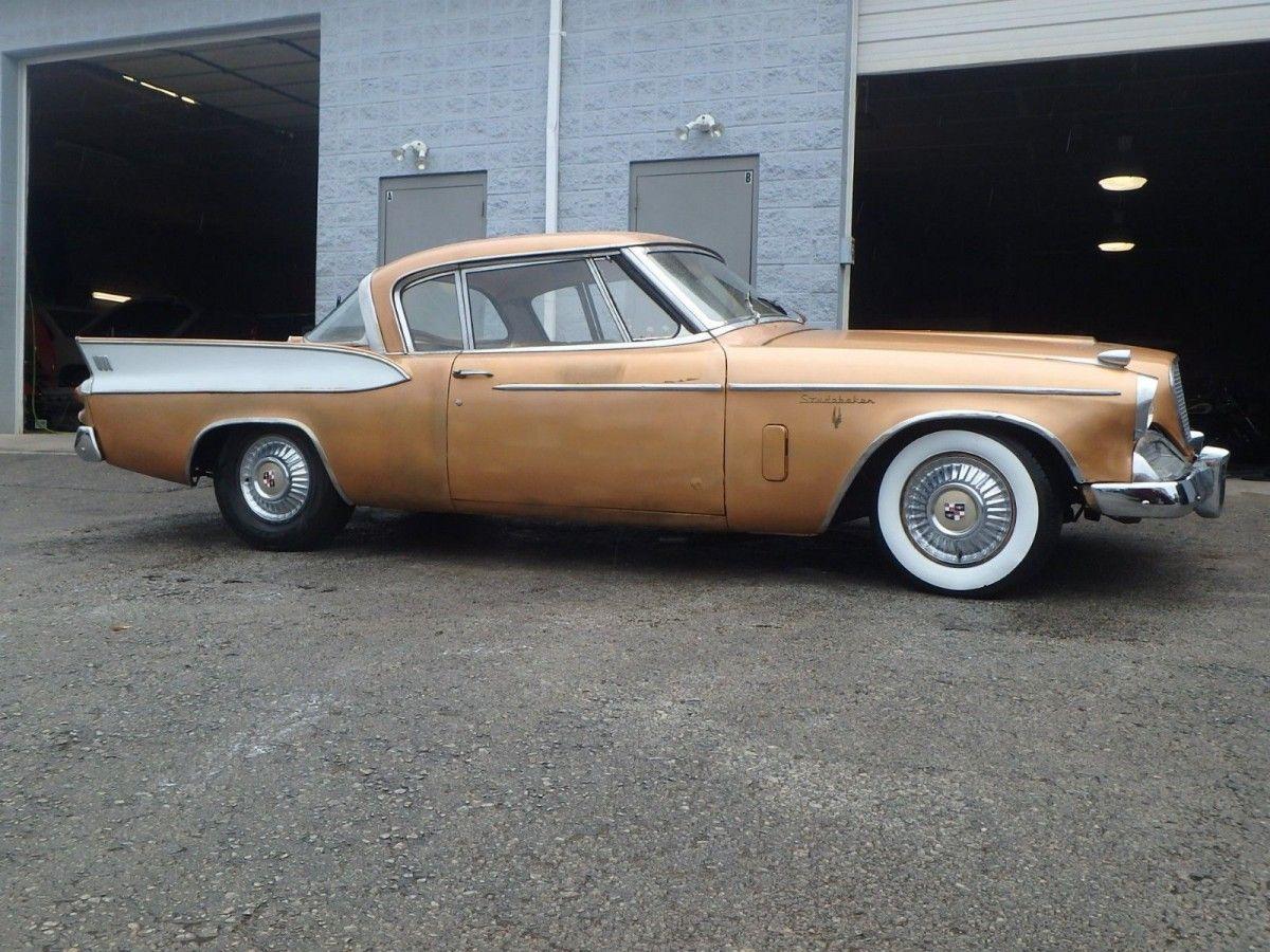 the pre muscle car 1957 studebaker golden hawk barn finds rh pinterest com