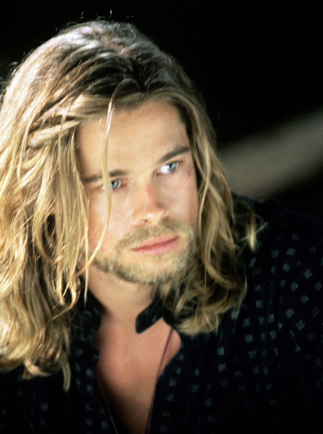 Brad Pitt Pic 144618 Brad Pitt Long Hair Brad Pitt Long Hair Styles Men