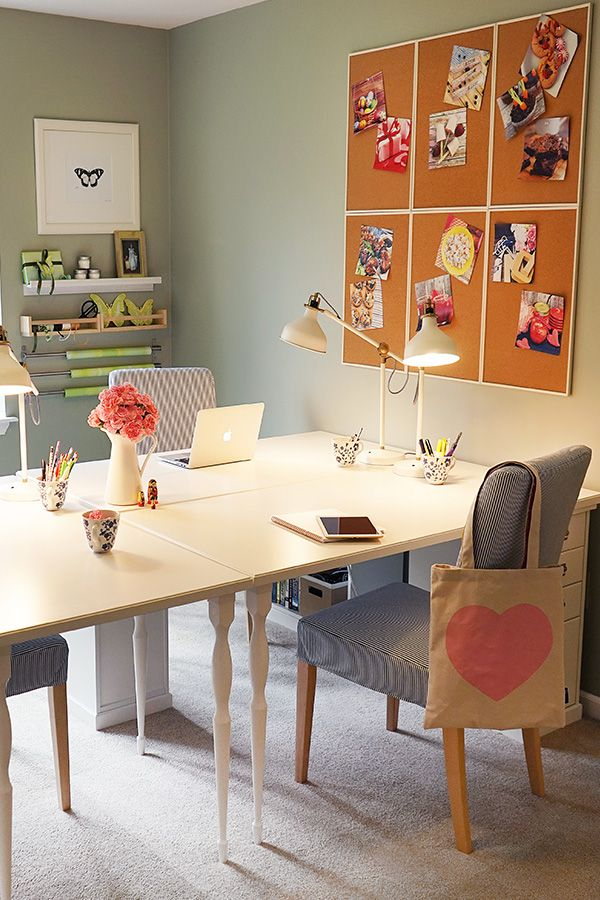 The IKEA Home Tour Squad Was Able To Give Melissa From Everyday Savvy Plenty Of Space Office DecorHome