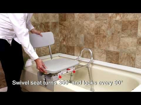 View All Products : 77762 - Tub-Mount Swivel Sliding Transfer Bench ...